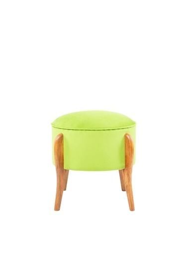 Ze10 Design Lockett Puf Fsıtık Yeşili Yeşil